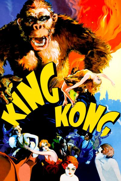 Cover of the movie King Kong