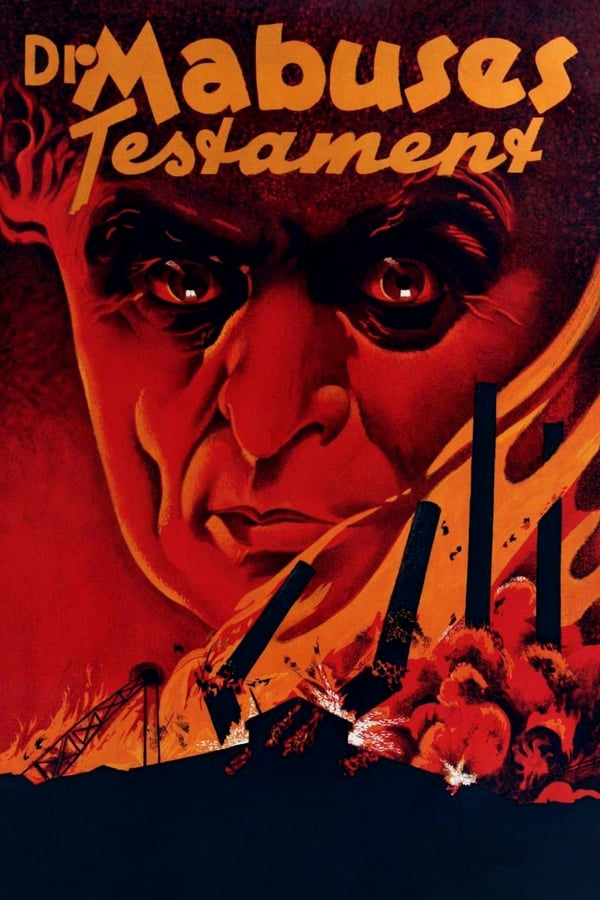 Cover of the movie The Testament of Dr. Mabuse