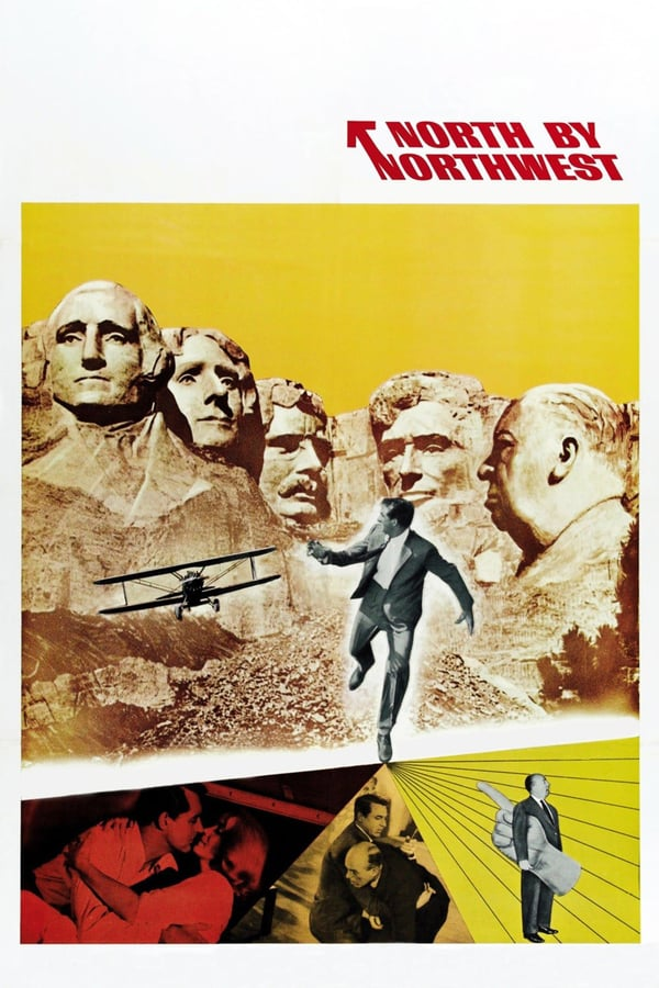 Cover of the movie North by Northwest