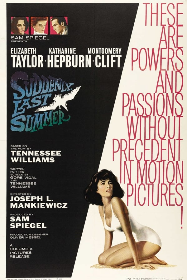 Cover of the movie Suddenly, Last Summer