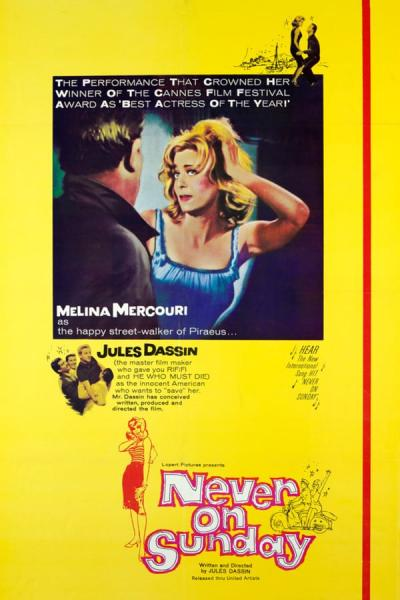 Cover of Never on Sunday