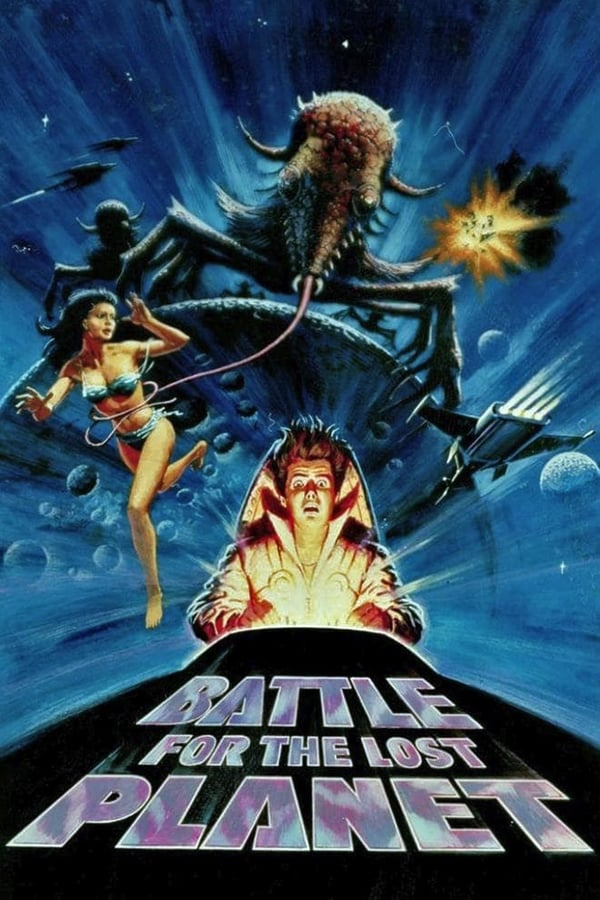 Cover of the movie Battle for the Lost Planet