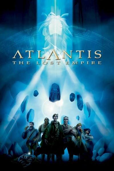 Cover of Atlantis: The Lost Empire