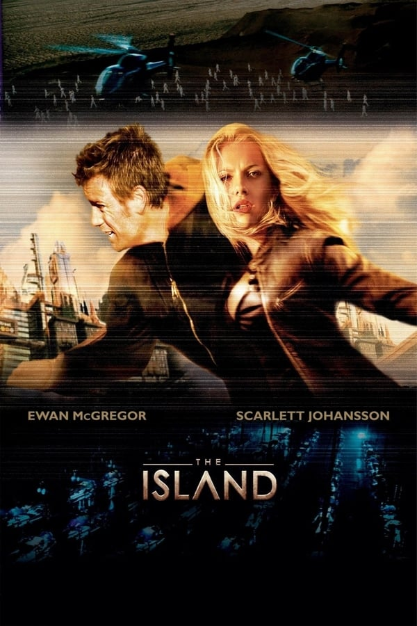Cover of the movie The Island