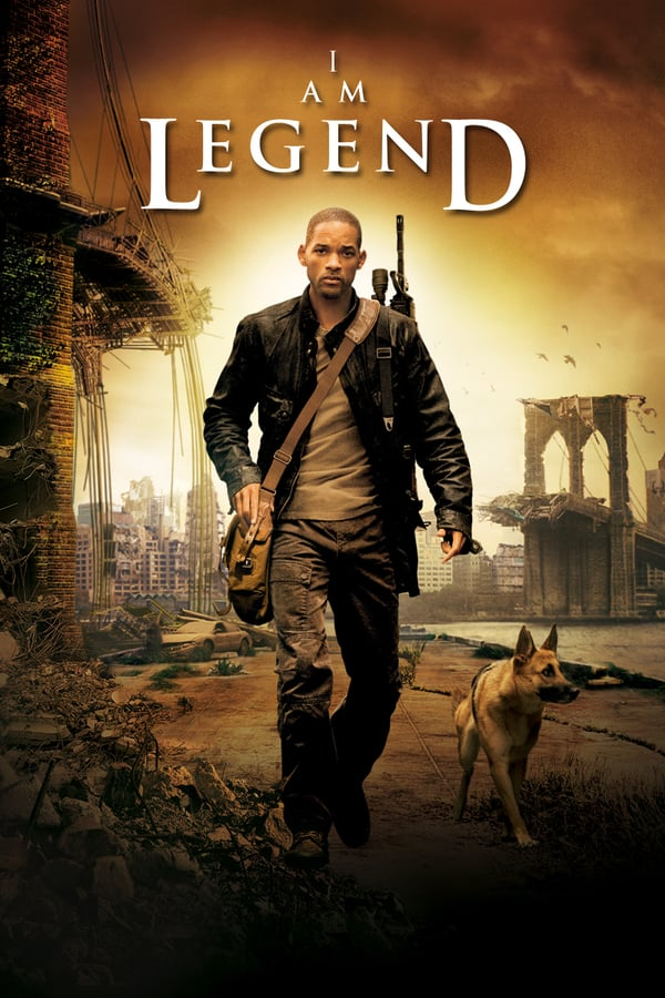 Cover of the movie I Am Legend