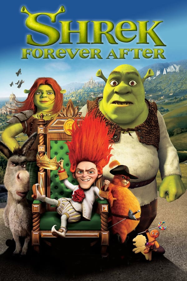 Cover of the movie Shrek Forever After