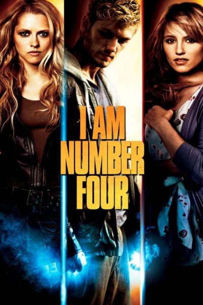 Cover of the movie I Am Number Four