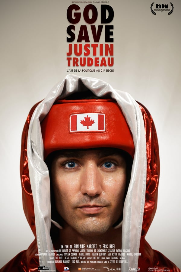 Cover of the movie God Save Justin Trudeau