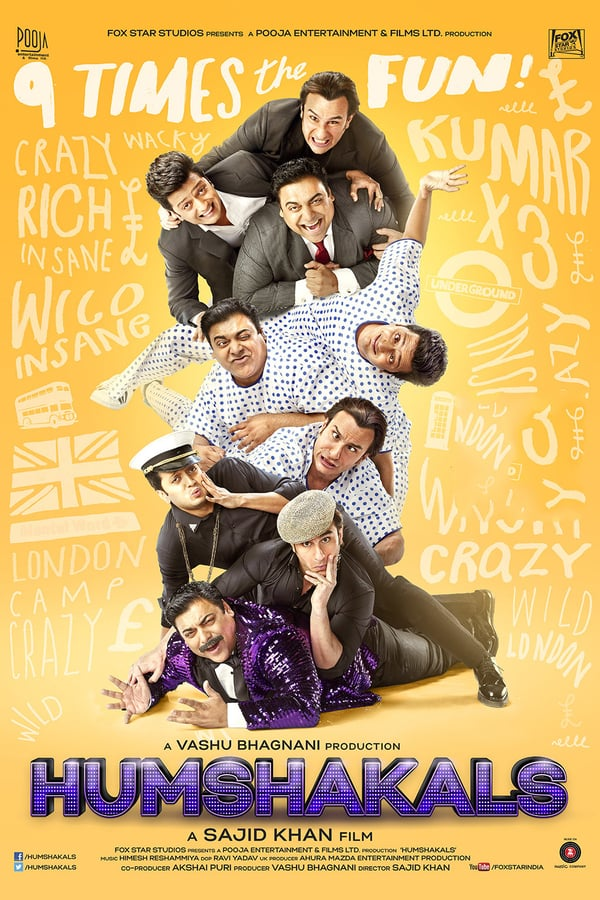 Cover of the movie Humshakals
