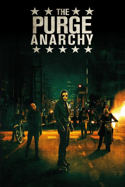 Cover of The Purge: Anarchy