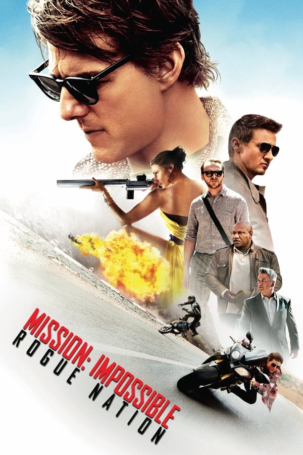 Cover of the movie Mission: Impossible - Rogue Nation