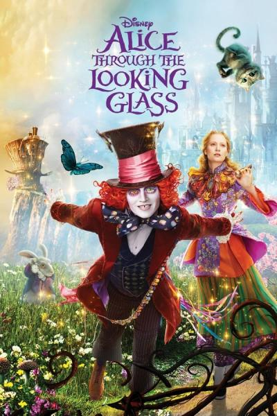 Cover of Alice Through the Looking Glass
