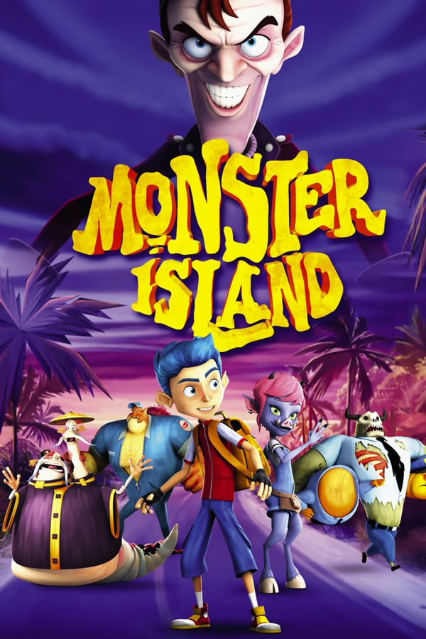 Cover of the movie Monster Island