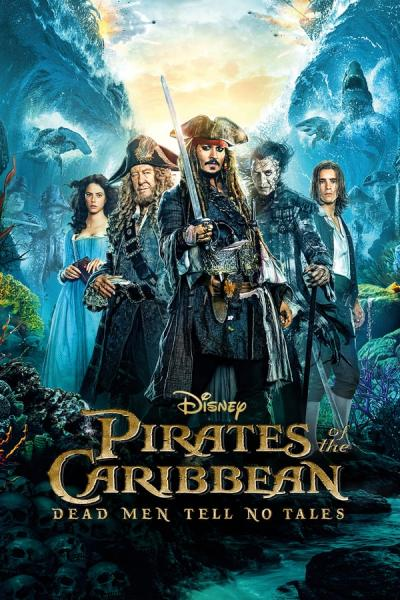 Cover of Pirates of the Caribbean: Dead Men Tell No Tales