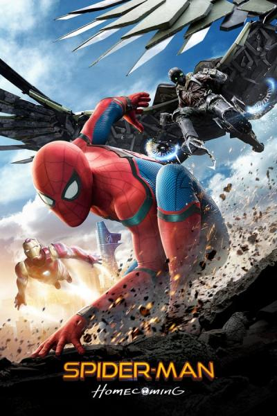 Cover of Spider-Man: Homecoming