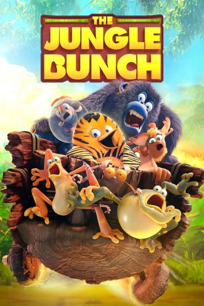 Cover of The Jungle Bunch