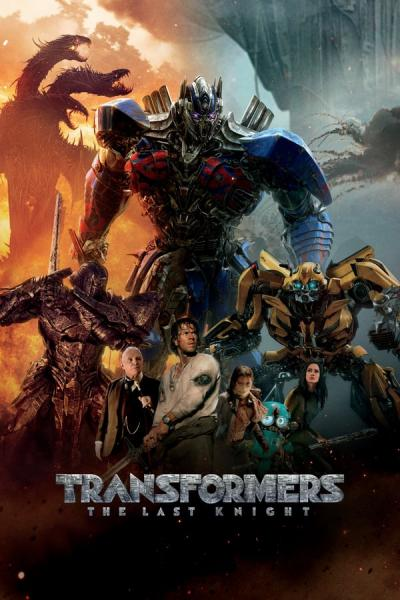 Cover of Transformers: The Last Knight