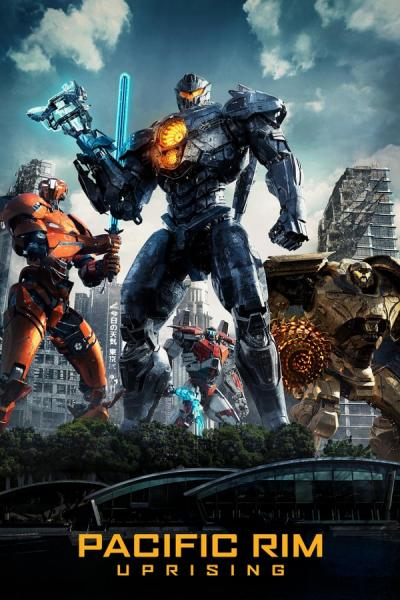Cover of Pacific Rim: Uprising