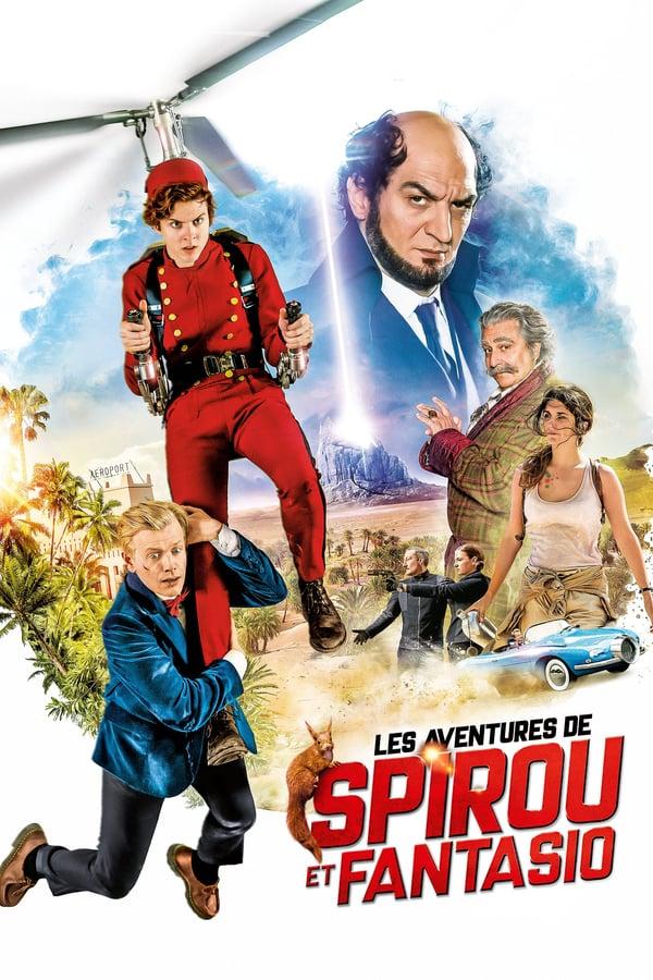 Cover of the movie Spirou & Fantasio's Big Adventures