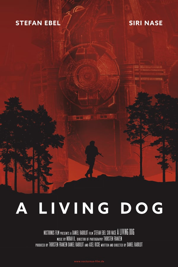 Cover of the movie A Living Dog