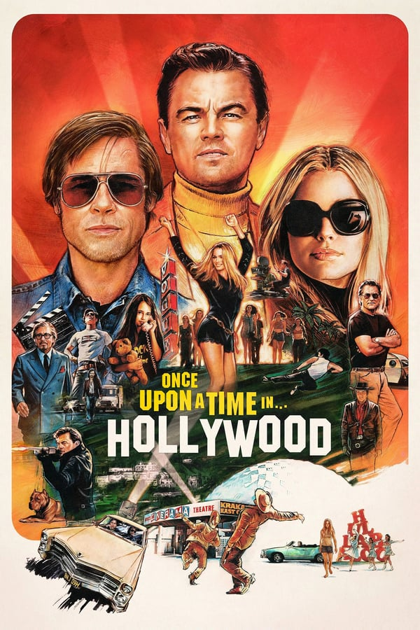 Cover of the movie Once Upon a Time… in Hollywood