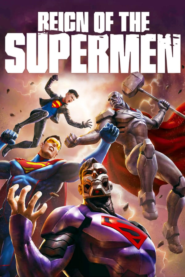 Cover of the movie Reign of the Supermen